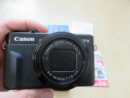 >登山用おすすめカメラCANONデジタルカメラ PowerShot G7 X MarkII