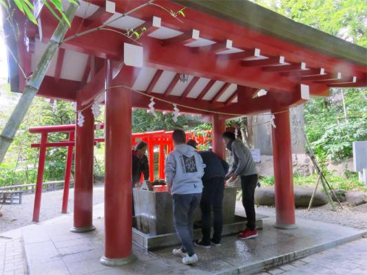 来宮神社の手水舎