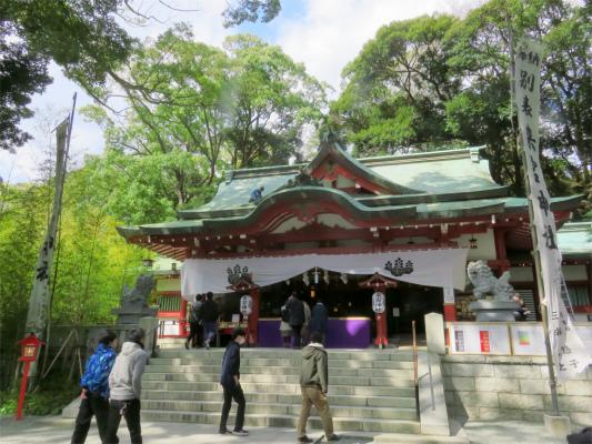 雰囲気の良い神社
