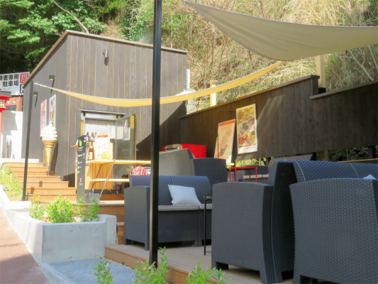 来宮神社の参道の近くカフェ
