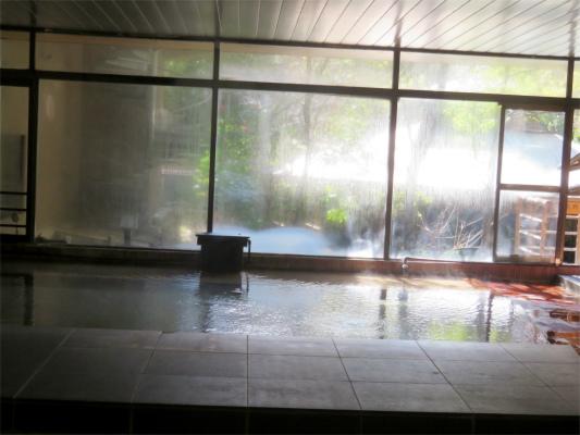 大月ホテル和風館大浴場