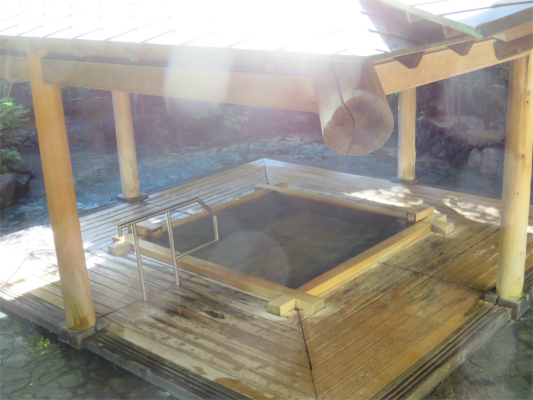 熱海大月ホテルの露天風呂