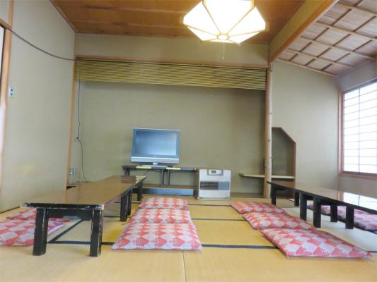 大月ホテル和風館の休憩所(休み処)