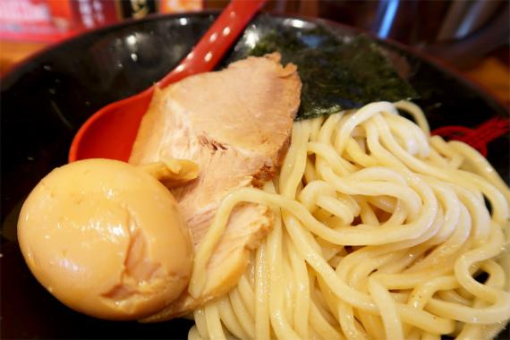 つけ麺煮卵チャーシュー海苔