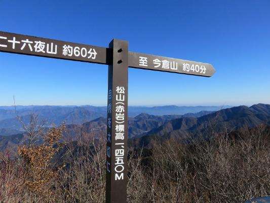 赤岩の標高は、1,450m