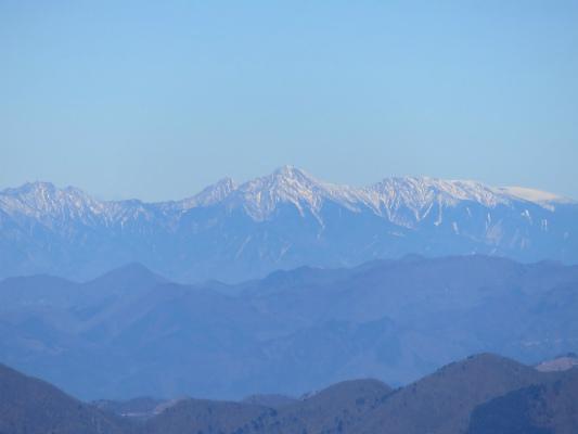道志山塊から八ヶ岳