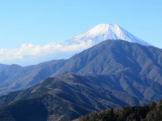 富士山と御正体夢のコラボ