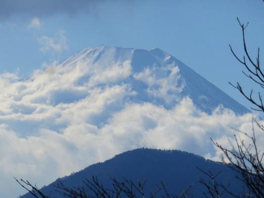 ウガバ岩からの富士山