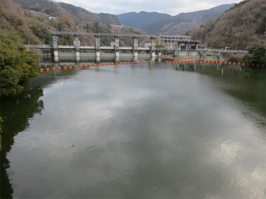 相模湖駅から嵐山