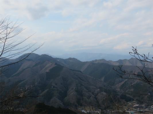 道志の山々