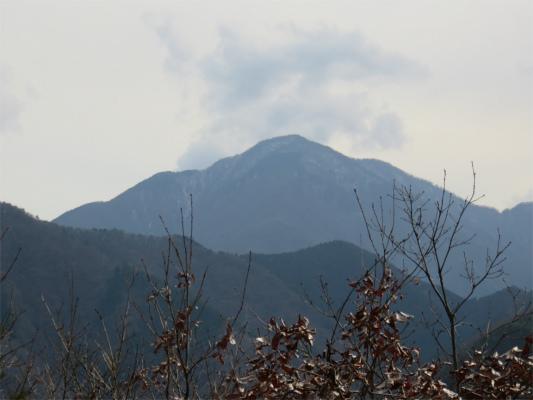 阿夫利山から蛭ヶ岳