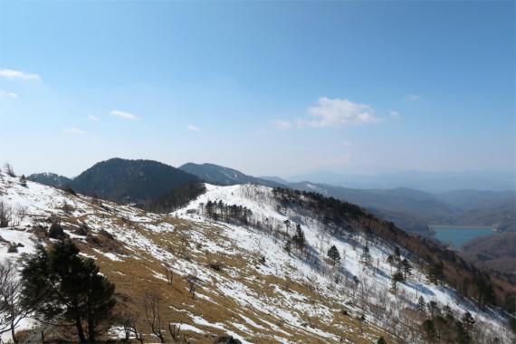 大菩薩湖周辺の景色
