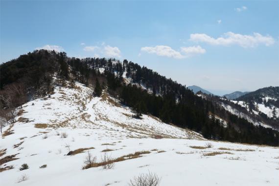 石丸峠周辺雪