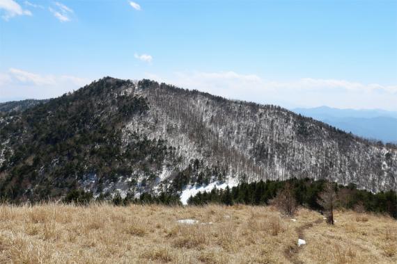 黒岳方面の景色