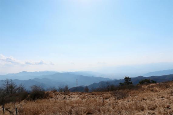 富士山が見えない素敵な景色