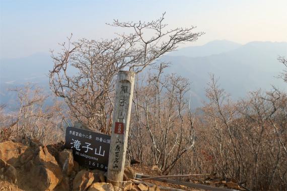 小金沢連嶺縦走路の最後を飾る名峰滝子山