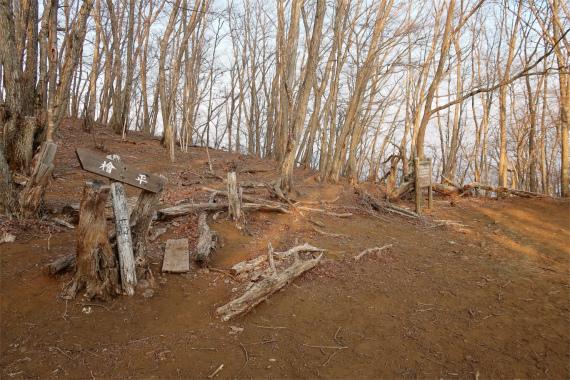檜平滝子沢へ下山できるルート