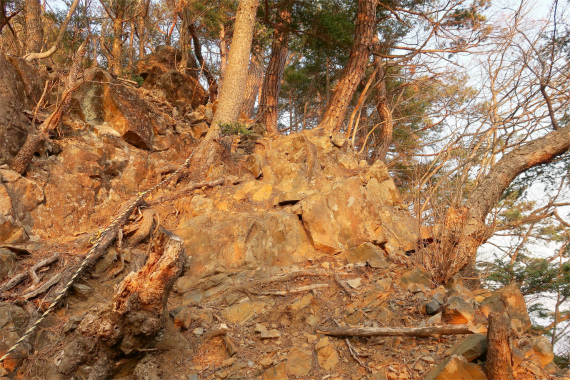 危ない登山道箇所