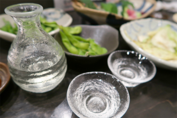 日本酒と肴