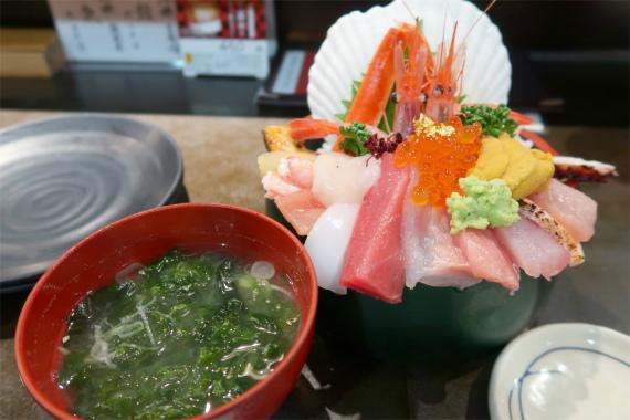 山さん寿司の味噌汁