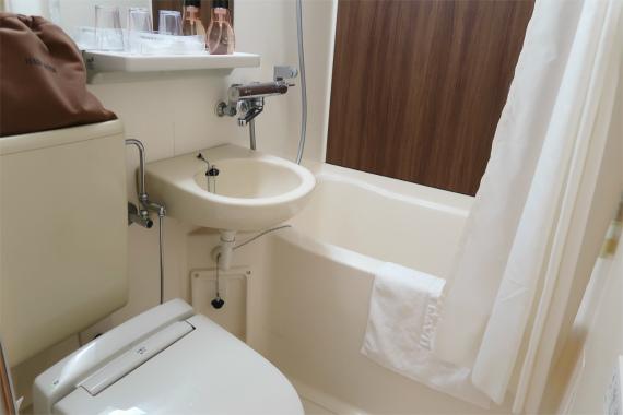 ホテルマイステイズ金沢キャッスルのトイレ・バスルーム
