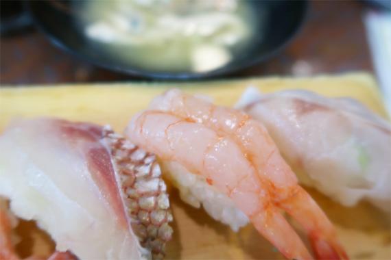 ノドグロのお寿司