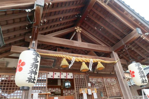 宇多須神社は凄い参拝人