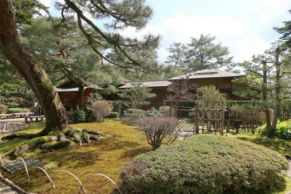 日本庭園の美しさ
