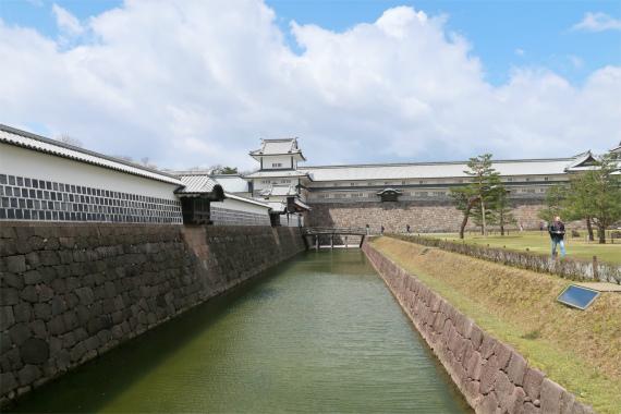 金沢城のお堀