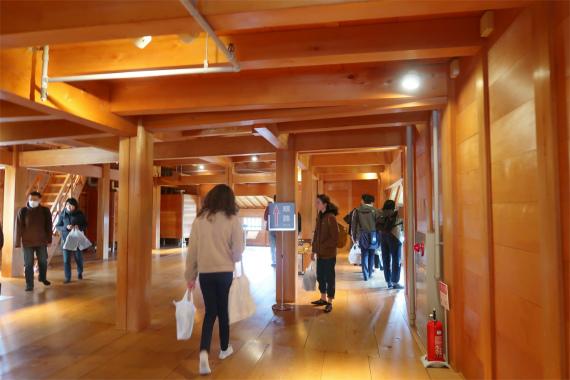 金沢城を代表する施設五十間長屋