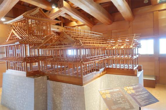 金沢城の二の丸御殿の復元した物