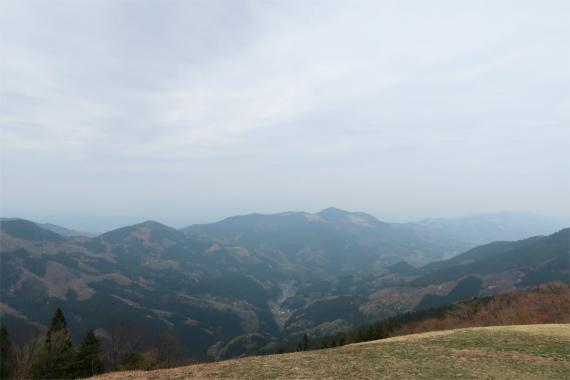 堂平山からの景色