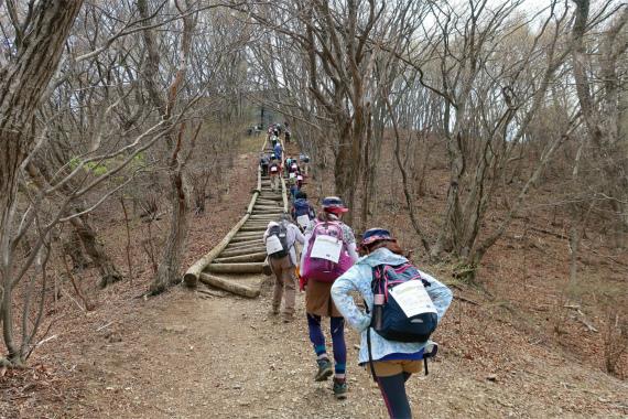 外秩父七峰縦走ハイキング大会最高