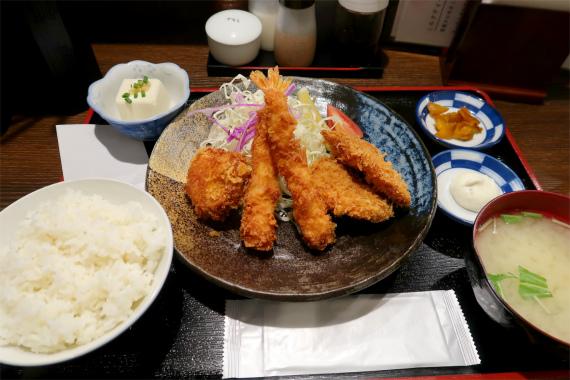 旬の彩定食ランチメニュー