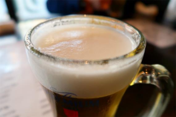 秩父の酒場ぶぶすけ生ビール