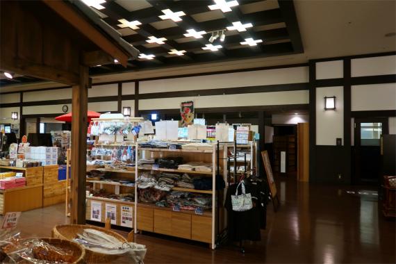 1階のロビー小田原の地のお土産
