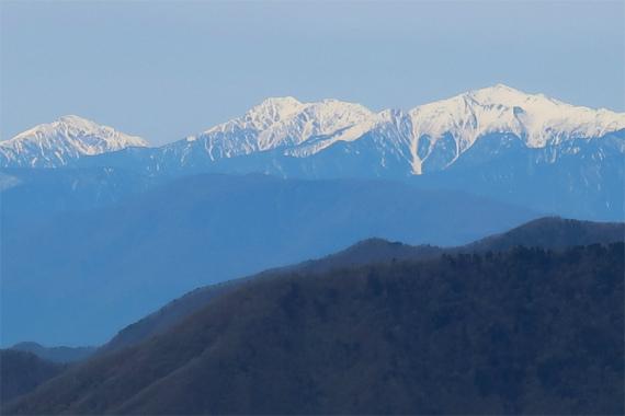 荒川岳、赤石岳、聖岳