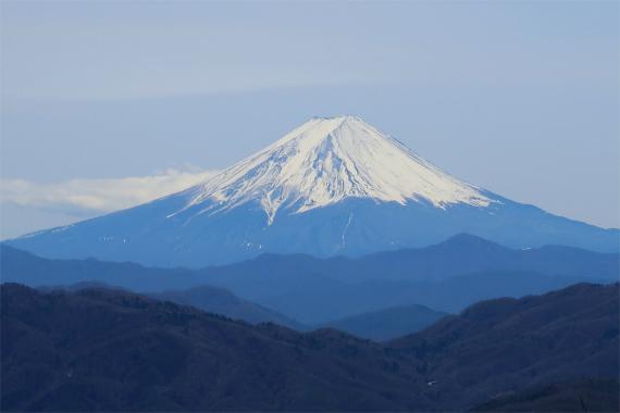 水干からの富士山の眺めが素晴らしく