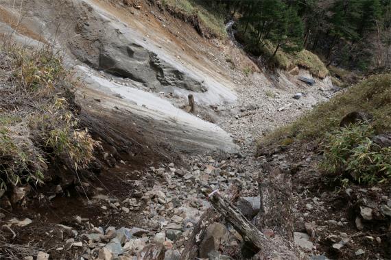 平成29年この周辺で大きな土砂崩れ