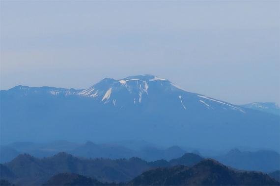 浅間山のアップ