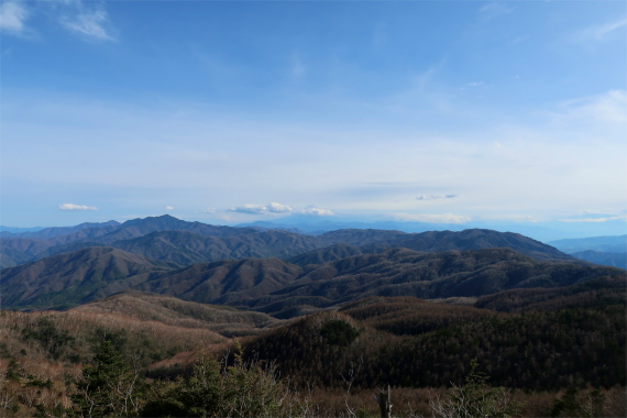 笠取山からの景色