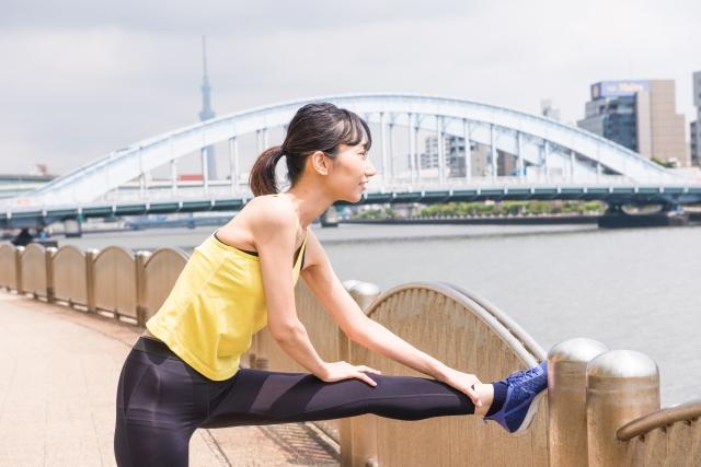 ヒアルロン酸&グルコサミン生き生きとした女性スポーツ