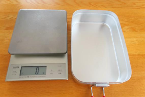 ラージメスティンを使ってのお米の炊き方と水の量秤