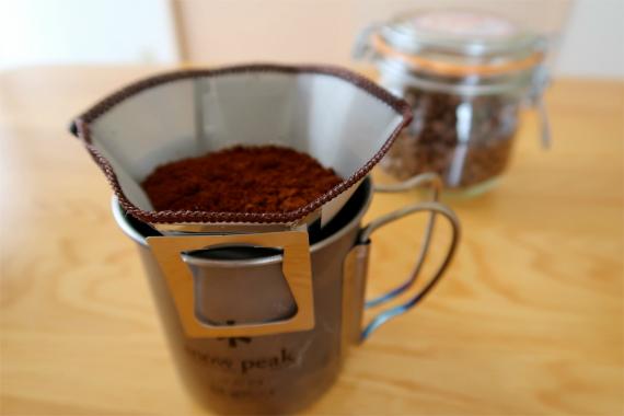 ハイマウントコーヒーメッシュフィルターインスタントコーヒードリップの構造と同じ