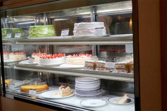カフェラミルのケーキ