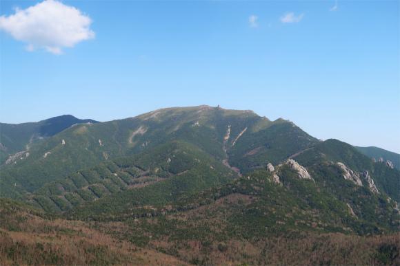 瑞牆山山頂からの景色