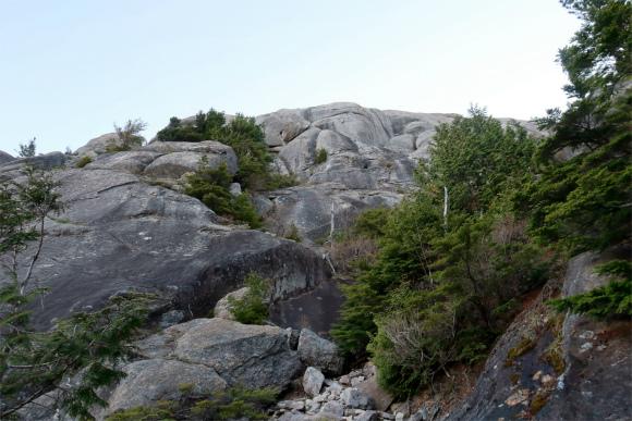 大日岩大きな岩