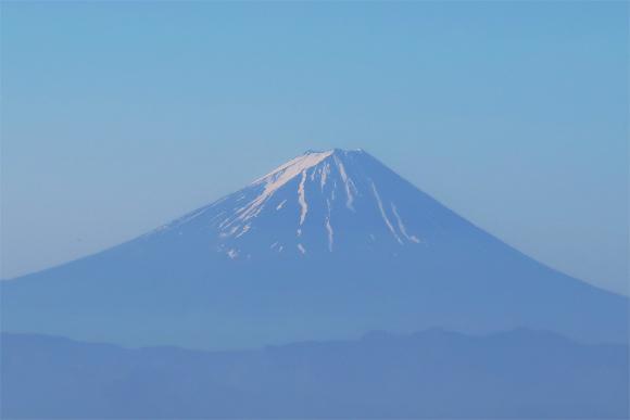 金峰山の登山ルート富士山の景色