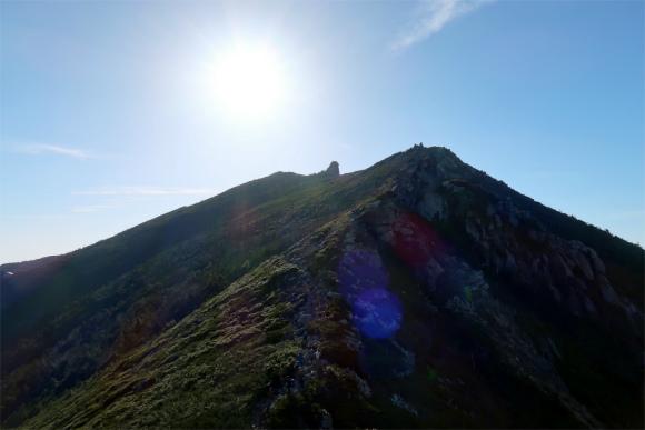 ダイヤモンドぽい五丈石、金峰山