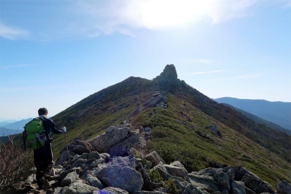 金峰山へのウイングロード
